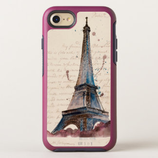 Funda OtterBox Symmetry Para iPhone 8/7 Letras de Eiffel