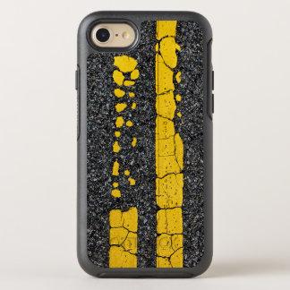 Funda OtterBox Symmetry Para iPhone 8/7 Línea amarilla doble decaída