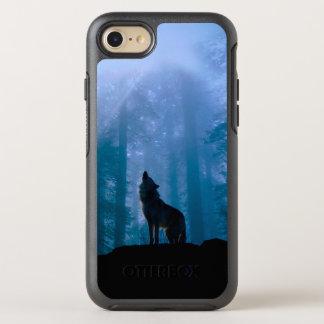 Funda OtterBox Symmetry Para iPhone 8/7 Lobo del grito - lobo salvaje - lobo del bosque