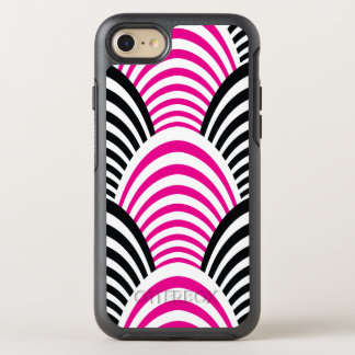 Funda OtterBox Symmetry Para iPhone 8/7 Los años 20 rosados de la edad del jazz moderno y