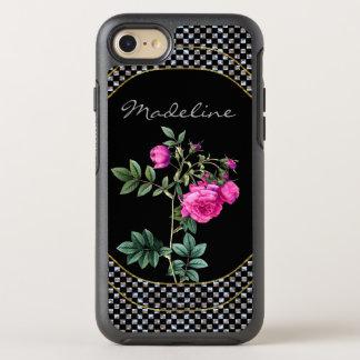 Funda OtterBox Symmetry Para iPhone 8/7 Madelines subió el monograma bonito protector