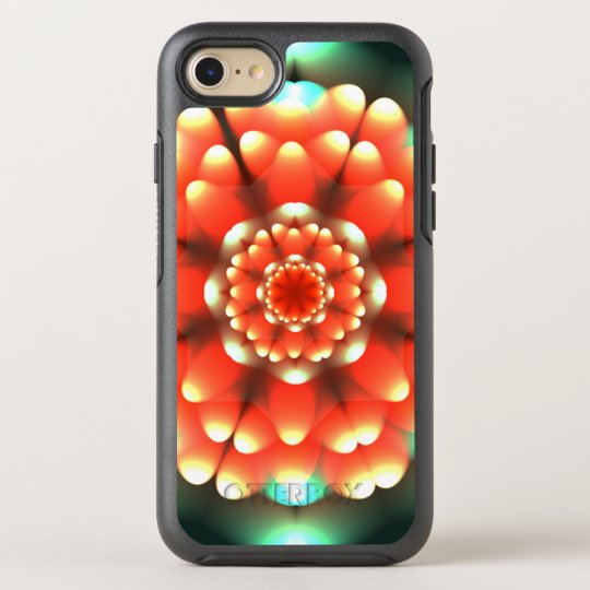 Funda OtterBox Symmetry Para iPhone 8/7 Mandala de la anémona