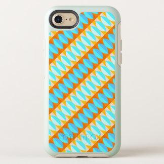 Funda OtterBox Symmetry Para iPhone 8/7 Modelo colorido del amarillo anaranjado de las