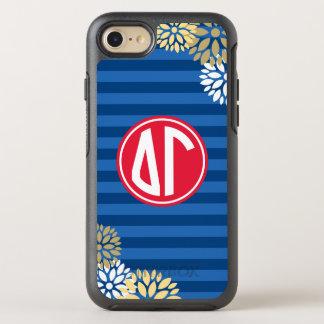 Funda OtterBox Symmetry Para iPhone 8/7 Modelo de la raya del monograma de la gamma el |