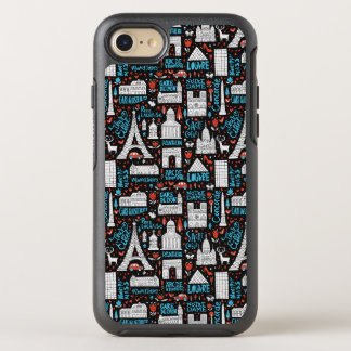 Funda OtterBox Symmetry Para iPhone 8/7 Modelo de los símbolos de Francia el |