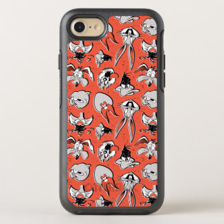 Funda OtterBox Symmetry Para iPhone 8/7 Modelo de semitono retro LOONEY de TUNES™