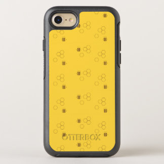 Funda OtterBox Symmetry Para iPhone 8/7 Modelo del panal de la abeja