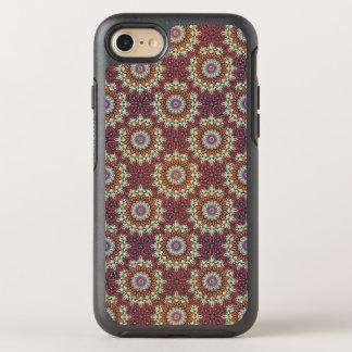 Funda OtterBox Symmetry Para iPhone 8/7 Modelo floral étnico abstracto colorido de la