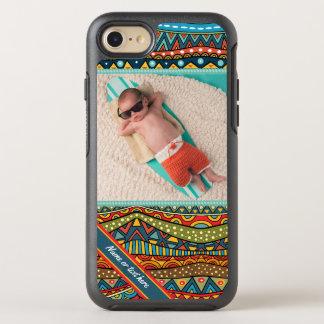 Funda OtterBox Symmetry Para iPhone 8/7 Modelo geométrico colorido de la diversión