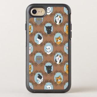 Funda OtterBox Symmetry Para iPhone 8/7 Modelo lindo de los gatos