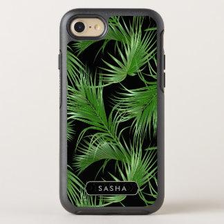 Funda OtterBox Symmetry Para iPhone 8/7 Modelo tropical enorme de la palma con nombre o el