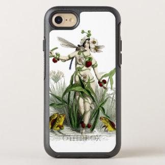 Funda OtterBox Symmetry Para iPhone 8/7 Mujer y criaturas caprichosas en la charca