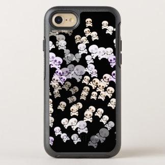 Funda OtterBox Symmetry Para iPhone 8/7 Pequeños cráneos coloridos