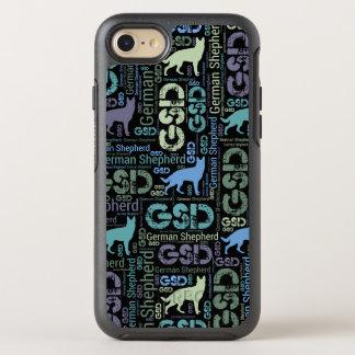 Funda OtterBox Symmetry Para iPhone 8/7 Perro de pastor alemán - GSD