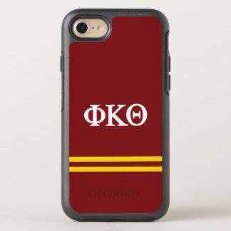 Funda OtterBox Symmetry Para iPhone 8/7 Raya del deporte de la theta el   de Kappa de la