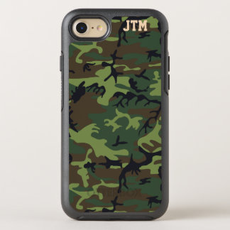 Funda OtterBox Symmetry Para iPhone 8/7 Refresque el monograma de Camo del camuflaje