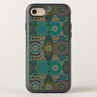 Funda OtterBox Symmetry Para iPhone 8/7 Remiendo del vintage con los elementos florales de