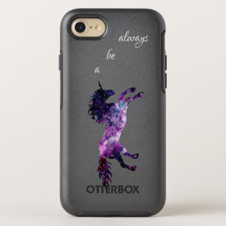 Funda OtterBox Symmetry Para iPhone 8/7 Sea siempre una caja de la nebulosa de la acuarela