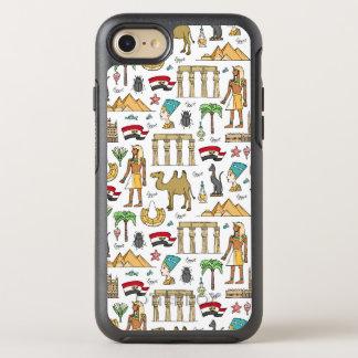 Funda OtterBox Symmetry Para iPhone 8/7 Símbolos del color del modelo de Egipto