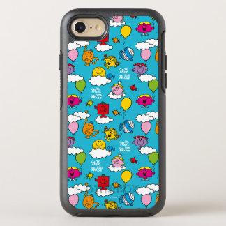 Funda OtterBox Symmetry Para iPhone 8/7 Sr. Men y pequeños pájaros y globos de la Srta. el