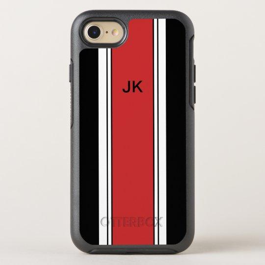 Funda OtterBox Symmetry Para iPhone 8/7 Tema que compite con del monograma para hombre