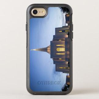 Funda OtterBox Symmetry Para iPhone 8/7 Templo de Gilbert en la puesta del sol