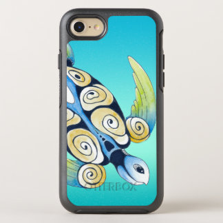 Funda OtterBox Symmetry Para iPhone 8/7 trullo de la turquesa de la tortuga