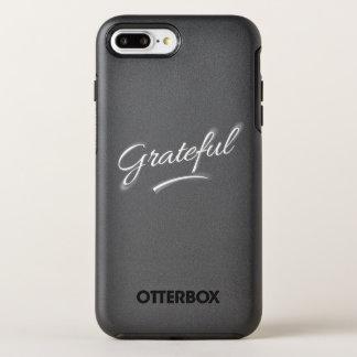 Funda OtterBox Symmetry Para iPhone 8 Plus/7 Plus Agradecido