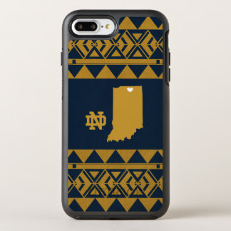 Funda OtterBox Symmetry Para iPhone 8 Plus/7 Plus Amor tribal del estado de Notre Dame el |