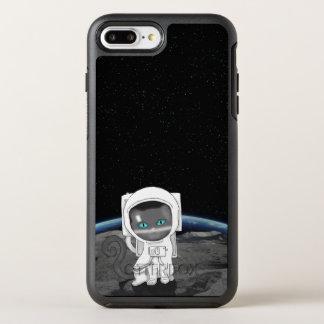 Funda OtterBox Symmetry Para iPhone 8 Plus/7 Plus ¡Astronauta del gato!