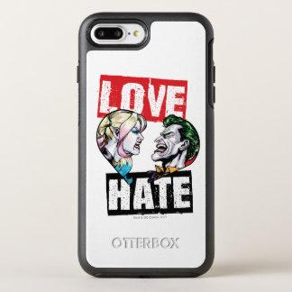 Funda OtterBox Symmetry Para iPhone 8 Plus/7 Plus Batman el | Harley Quinn y amor del comodín/odio
