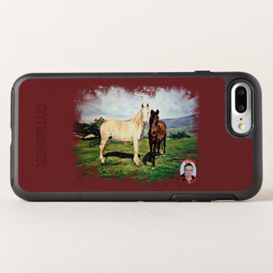 Funda OtterBox Symmetry Para iPhone 8 Plus/7 Plus Caballos/Cabalos/Horses