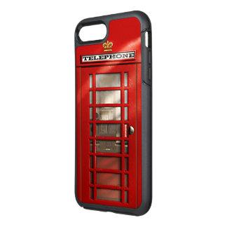 Funda OtterBox Symmetry Para iPhone 8 Plus/7 Plus Cabina de teléfono roja británica de la ciudad de