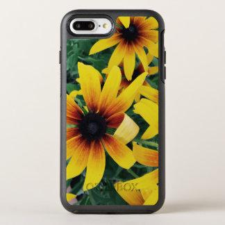 Funda OtterBox Symmetry Para iPhone 8 Plus/7 Plus Caja amarilla del teléfono de la flor del verano