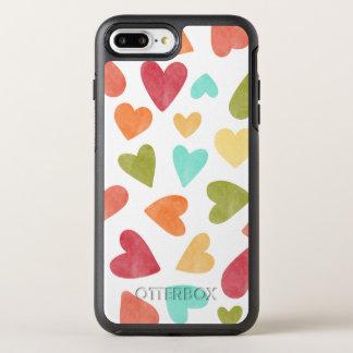 Funda OtterBox Symmetry Para iPhone 8 Plus/7 Plus Caja del teléfono de la tarjeta del día de San