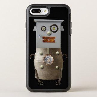 Funda OtterBox Symmetry Para iPhone 8 Plus/7 Plus Caja fresca del teléfono de Sci Fi del robot