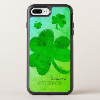 Funda OtterBox Symmetry Para iPhone 8 Plus/7 Plus Caja más personalizada trébol moderno del iPhone 7