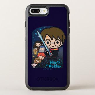 Funda OtterBox Symmetry Para iPhone 8 Plus/7 Plus Cámara de Harry Potter del dibujo animado de