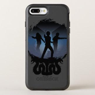 Funda OtterBox Symmetry Para iPhone 8 Plus/7 Plus Cámara de Harry Potter el   de silueta de los