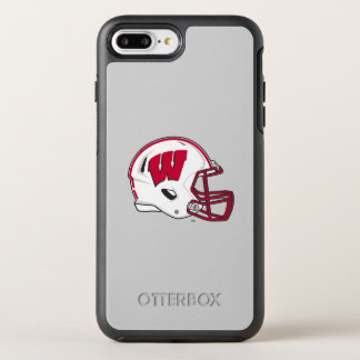 Funda OtterBox Symmetry Para iPhone 8 Plus/7 Plus Casco de fútbol americano de Wisconsin el |