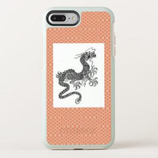 FUNDA OtterBox SYMMETRY PARA iPhone 8 PLUS/7 PLUS CASO JAPONÉS DE LA NUTRIA DEL DRAGÓN