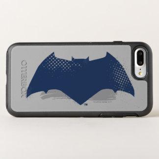 Funda OtterBox Symmetry Para iPhone 8 Plus/7 Plus Cepillo de la liga de justicia el | y símbolo de