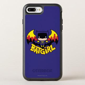 Funda OtterBox Symmetry Para iPhone 8 Plus/7 Plus Chibi Batgirl con el horizonte y el logotipo de