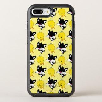 Funda OtterBox Symmetry Para iPhone 8 Plus/7 Plus Chibi SYLVESTER™ que persigue TWEETY™