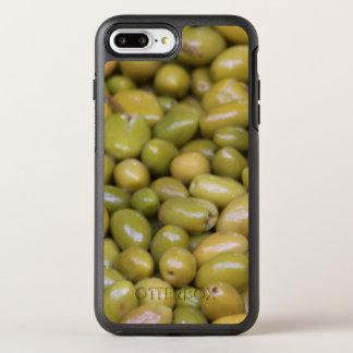 Funda OtterBox Symmetry Para iPhone 8 Plus/7 Plus Ciérrese para arriba de aceitunas verdes