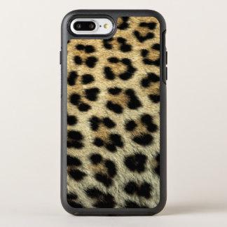 Funda OtterBox Symmetry Para iPhone 8 Plus/7 Plus Ciérrese para arriba de los puntos del leopardo,