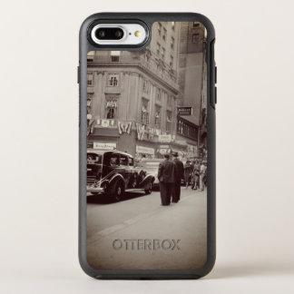 Funda OtterBox Symmetry Para iPhone 8 Plus/7 Plus Coche de la fotografía de los años 30 del hotel de