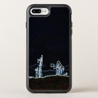 Funda OtterBox Symmetry Para iPhone 8 Plus/7 Plus Coche de Windfarm del molino de viento circa el
