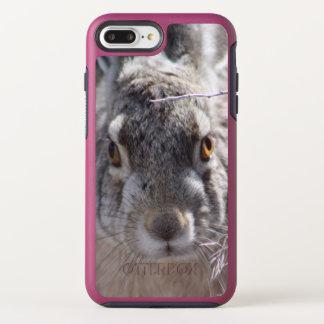 FUNDA OtterBox SYMMETRY PARA iPhone 8 PLUS/7 PLUS CONEJITO DE LA MONTAÑA DEL CASO DE LA NUTRIA DE