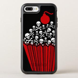 Funda OtterBox Symmetry Para iPhone 8 Plus/7 Plus +cráneo del || y magdalena rojos el || de